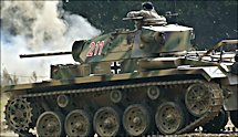Surviving Panzer III tank Replica 211