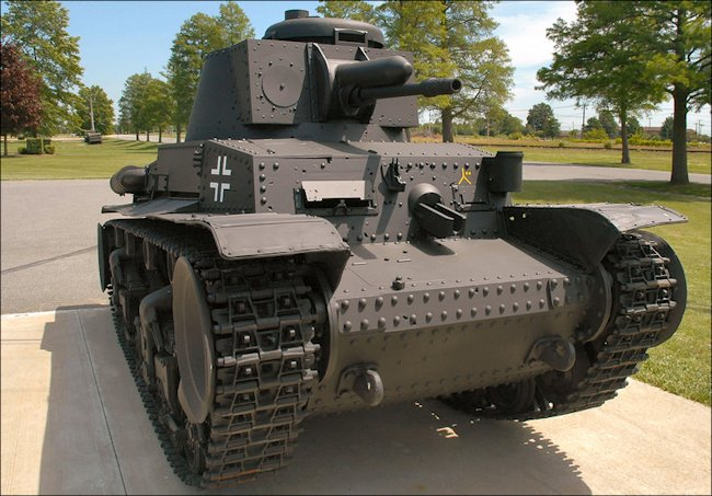 Surviving German Panzer PzKpfw 35(t) Lt Vs 35 Light Tank