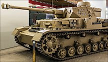 Surviving Panzer IV tank Ausf G at the German Tank Museum