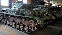 Surviving Panzer IV tank Ausf G at the Kubinka Tank Museum Russia