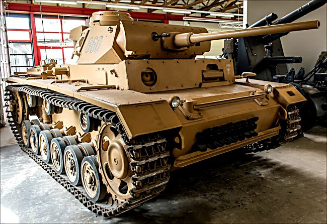 Image result for German panzer 3 tank in the desert