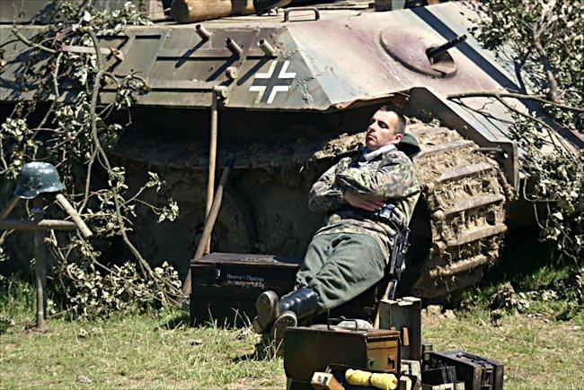 Surviving German WW2 Panther Tank Ausf  A Number 425