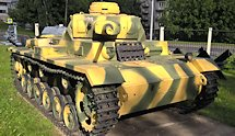 Surviving Panzer III Ausf. J tank Moscow