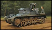 1:35 Scale Military Panzer I Tank Model Kits
