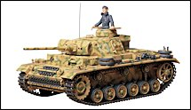 1:35 Scale Military Panzer III Tank Model Kits