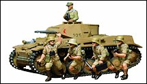 1:35 Scale Military Panzer II Tank Model Kits