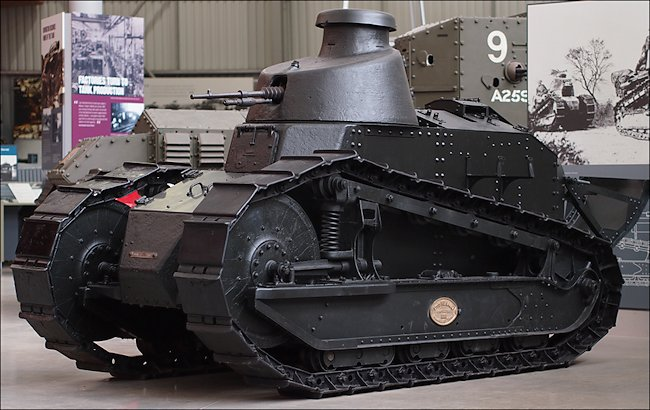 Surviving French WW1 Renault FT-17 Tank