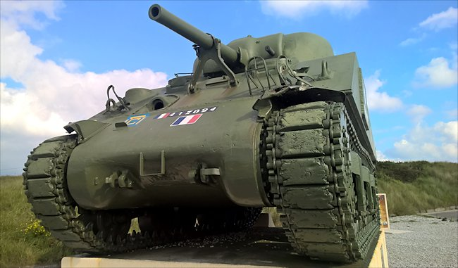 Surviving M4A2 Sherman Tank used during D-Day