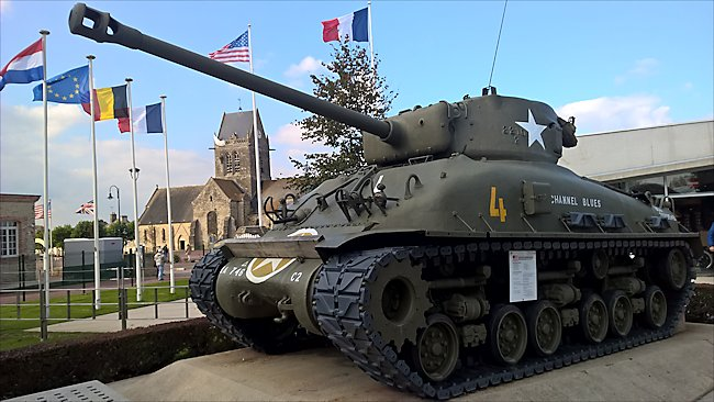 Surviving M4A1E8 76mm Sherman Tank It was not used in Normandy during D-Day