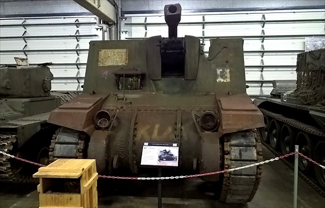 Sexton Self-propelled Artillery Guns saw action in the WW2 Battle of the Bulge