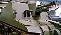 Surviving British WW2 Sexton Self Propelled Gun SPG