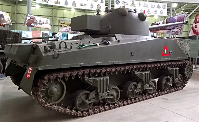 readr view on a surviving Sherman Firefly British Medium Tank