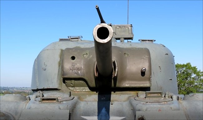 M4A4 Sherman Firefly 17pdr Vc Tanks saw action in the WW2 Battle of the Bulge