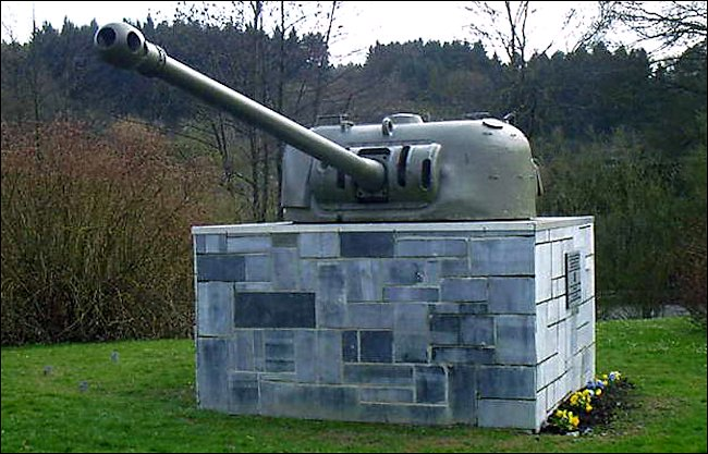 Preserved Hotton Battle of the Bulge Firefly Sherman Turrets