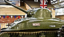 The oldest Surviving British WW2 Sherman M4A1 Tank