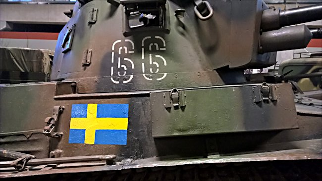 Photo of a Surviving Swedish m/38 Tank turret