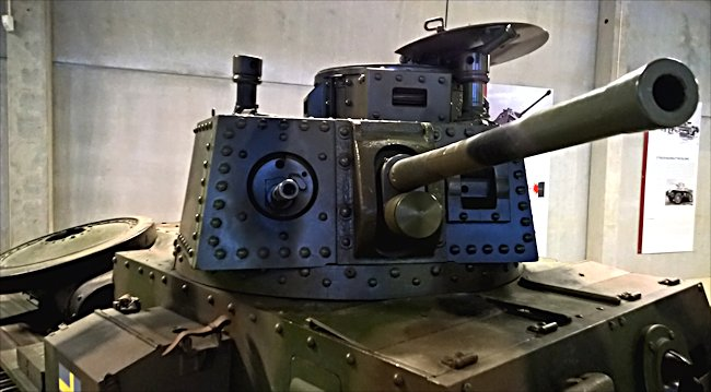 Surviving Swedish m/41 Tank turret