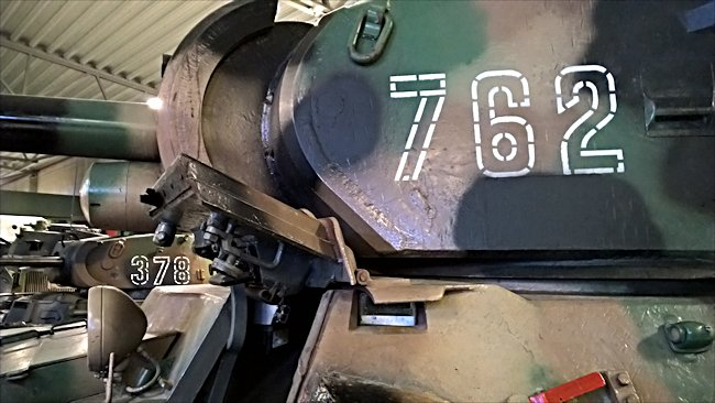 Turret close-up at the Arsenalen Tank Museum near Stockholm - Credits: Tank Hunter