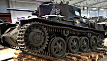 Surviving Swedish m/38 tank