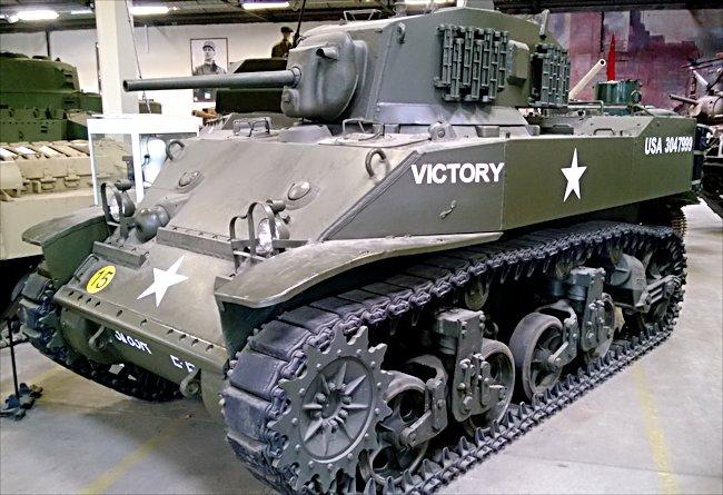 Academy 13269 US M3 Stuart w/interior
