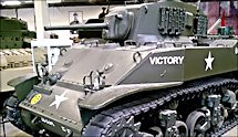 Surviving WW2 M3A1 Stuart Light Tank