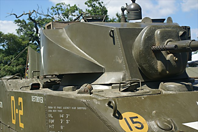 Surviving M5 Stuart Light Tank