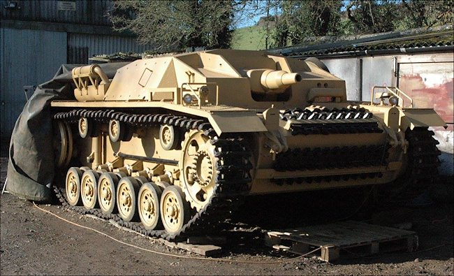 Restored German StuG III Ausf. D Sturmgeschutz Assault Gun