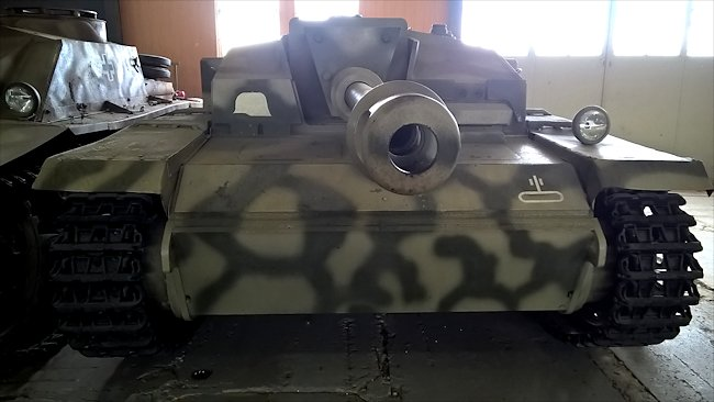 Preserved German StuG III Ausf. F/8 Sturmgeschütz Assault Gun