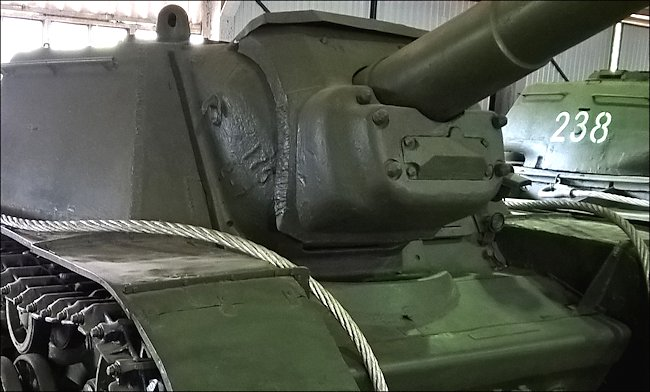 Surviving SU-152 Heavy Self Propelled Howitzer at Kubinka Tank Museum