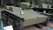 Surviving T-38 Soviet WW2 Amphibious Tank