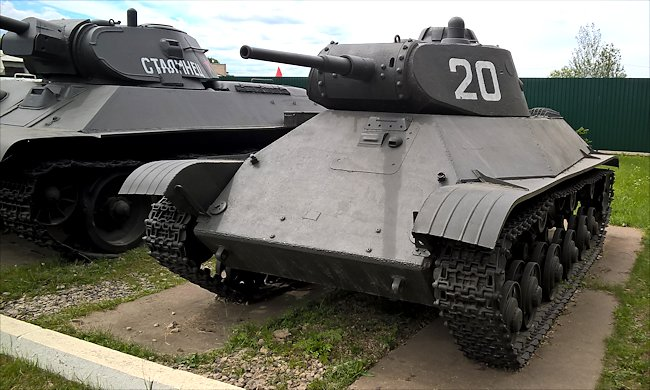 preserved T-50 Light Tank