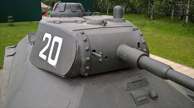 preserved T-50 Russian Soviet WW2 Light Tank