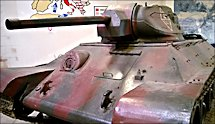 Surviving T34/76 Russian Soviet WW2 Medium Tank