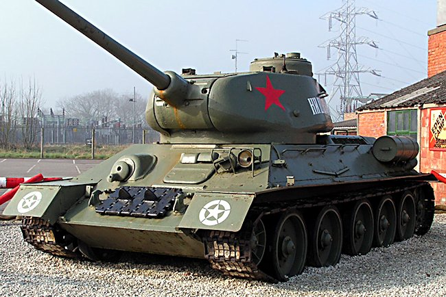 surviving t3485 russian soviet ww2 medium tank eden