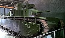 Surviving T-35 Russian Soviet WW2 Heavy Tank