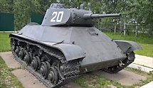 Surviving T-50 Russian Soviet WW2 light Tank