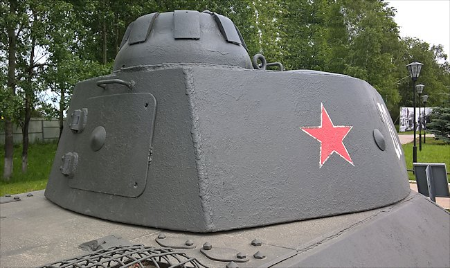 T50 Russian Soviet WW2 Light Tank
