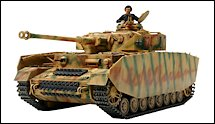 1:35 Scale Military Panzer IV Tank Model Kits