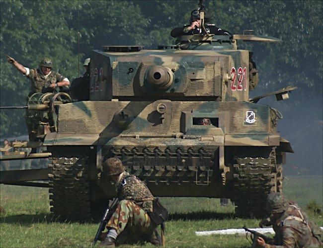 German WW2 Panzer VI Tiger Tank Mk1 replica