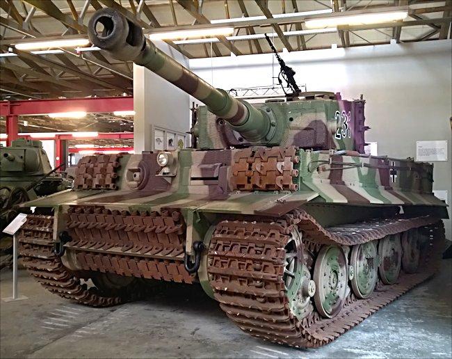 Tiger Tank At The German Tank Museum
