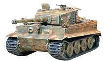 German 1:35 Scale Military Tank Model Kits