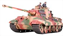 1:35 Scale Military King Tiger Tank Model Kits