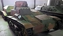 Surviving Type 94 Te-Ke Japanese tankette