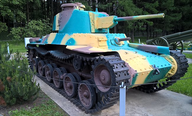 Surviving Type 97 Shinhoto Chi-Ha Japanese Medium Tank