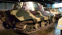 Surviving German WW2 Tiger II Panzerkampfwagn VI Ausf. B Heavy Tank National Armor and Cavalry Museum, Fort Benning, GA, USA