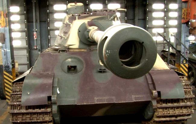 Surviving German King Tiger II Ausf. B Heavy Tank at the Patton Museum Of Cavalry and Armor, Fort Knox