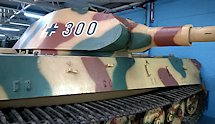 Surviving German WW2 Tiger II Ausf. B Heavy Tank Bovington Tank Museum