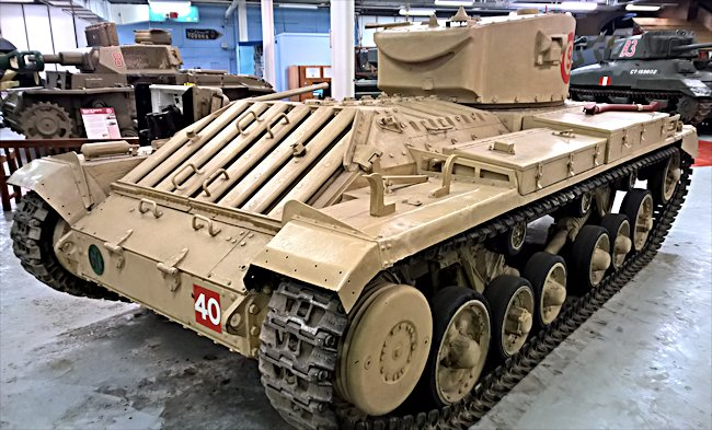 Surviving Valentine II Tank Turret