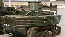 Surviving WW2 Vickers Amphibious Light Tank L1E3 at Bovington