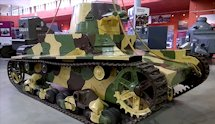 Surviving Vickers Armstrong Mk E light Tank